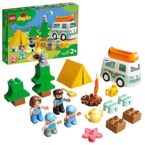 LEGO 10946 DUPLO Familienabenteuer mit Campingbus, Wohnmobil...