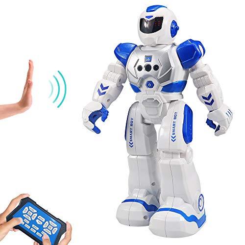 HUSAN Kinder Ferngesteuerter Roboter, Intelligenter Tanzen-Roboter mit...