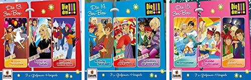 Die Drei !!! (Ausrufezeichen) - Hörspiel 3-CD-Box 13+14+15 (Folge...