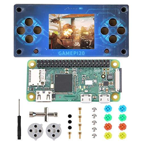 Worii Handheld-Spielekonsole, Gold Craft Resolution-Spielekonsole, für Raspberry Pi