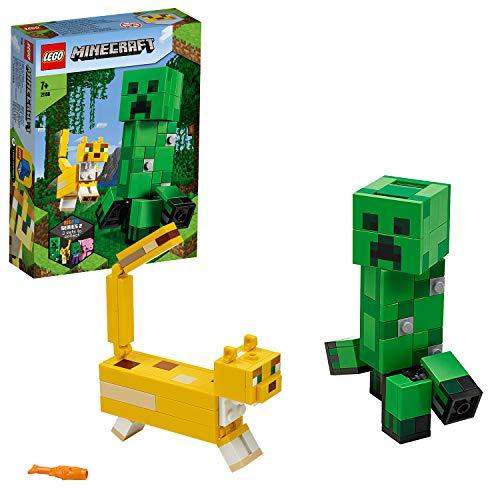 LEGO 21156 Minecraft BigFig Creeper und Ozelot, Bauset
