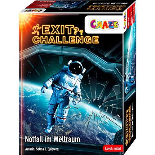 CRAZE EXIT Challenge-Spiel -Notfall im Weltraum- Escape Game ab 8...