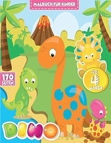 Dinosaurier Malbuch für Kinder: Mein tolles Dino Buch...