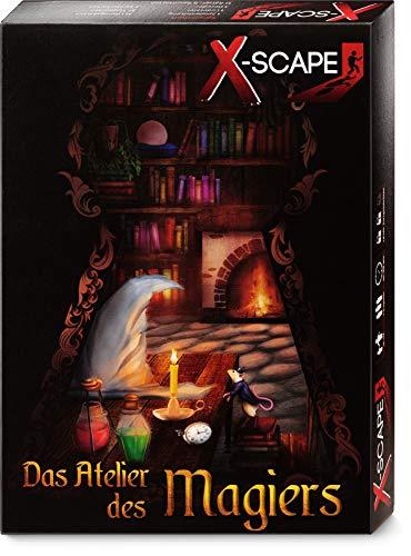 X-SCAPE - Das Atelier des Magiers - Escape Room Spiel für 1-5 Spieler...