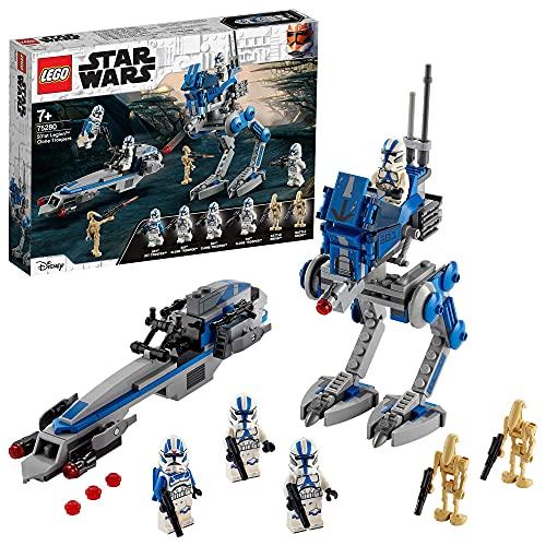 LEGO75280StarWarsCloneTroopersder501.Legion,Bausetm...