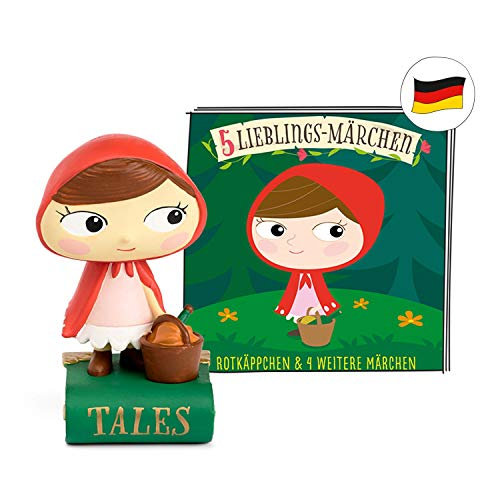 tonies Hörfiguren - 5 Lieblings Märchen Figur: Rotkäppchen, Frau...