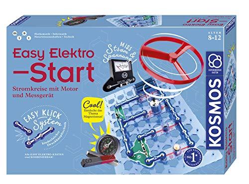 KOSMOS 620547 Easy Elektro - Start, Spannende Stromkreise mit Motor und Messgerät erforschen,...