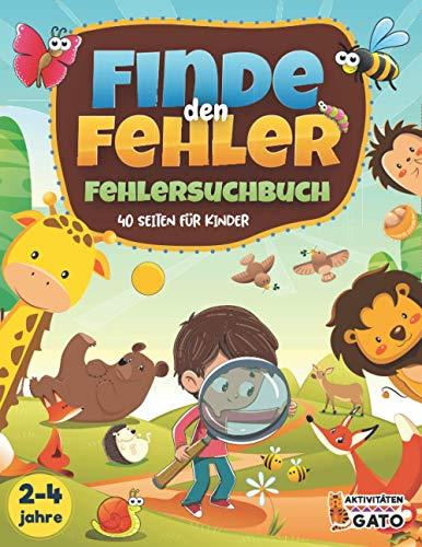 Finde den Fehler Kinder Fehlersuchbuch: Suchen und Finden buch,...