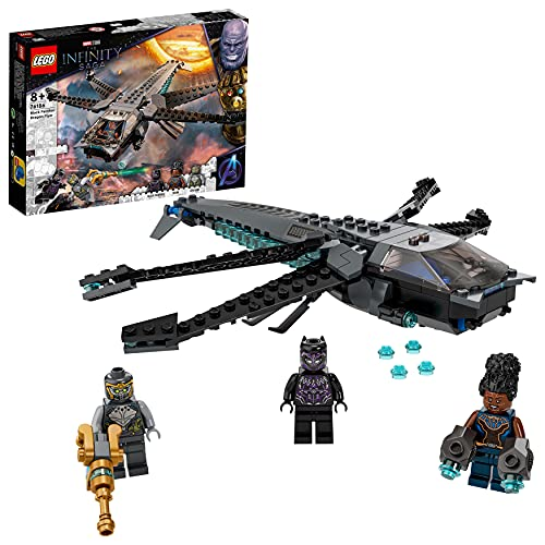 LEGO 76186 Marvel Super Heroes Black Panthers Libelle Spielzeug,...