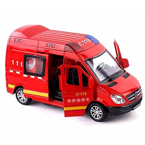 Nuoyazou 1:32 Ton und Licht Zurückziehen Kinderspielzeugauto...