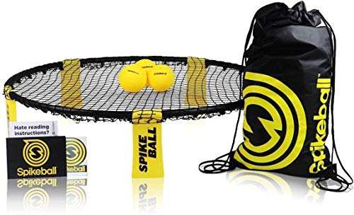 Spikeball-Set mit 3 Bällen - Zum Spielen im Freien, im Haus, im...