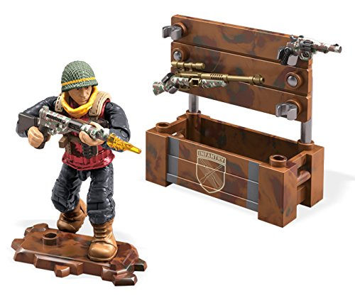 Mattel Mega Construx Call of Duty WWII Weapon Crate Care Package...
