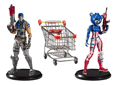 Fortnite 10591-9 Actionfiguren Shopping Cart Pack War Paint &...