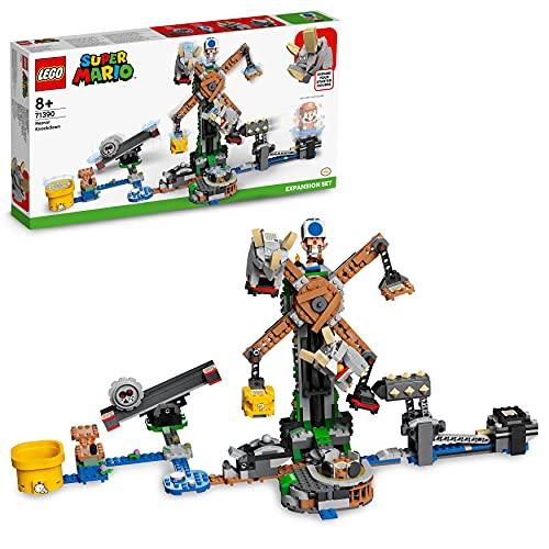 LEGO 71390 Super Mario Reznors Absturz – Erweiterungsset, Baubares...