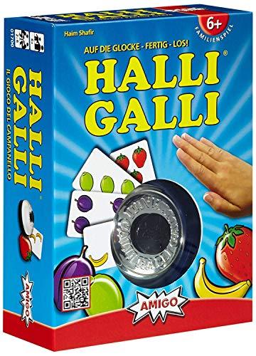 Amigo Spiel + Freizeit 1700 Halli Galli. Auf die Glocke-fertig-los!