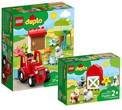 Collectix Lego DUPLO Set - Traktor und Tierpflege 10950 + Tierpflege...