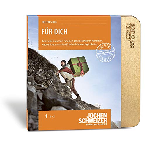 Jochen Schweizer Erlebnis-Box Für Dich, über 680 Erlebnisse für 1-2...