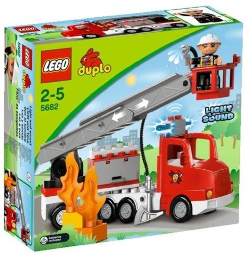 Lego 5682 - DUPLO Town 5682 Feuerwehrwagen