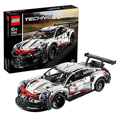 LEGO 42096 Technic Porsche 911 RSR, Rennauto Bausatz für...