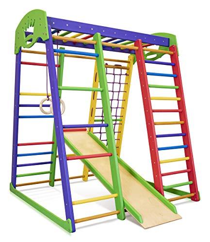 Kinder Aktivitätsspielzeug Kletterturm mit Rutsche'Akvarelka'...