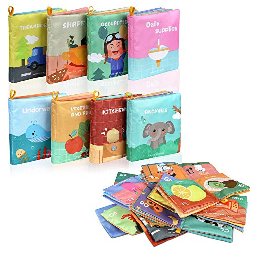 Lictin Stoffbuch für Babys Bilderbuch Stoff...