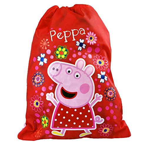 Peppa Pig Kinder-/Mädchen-Turnbeutel Tropical Paradise mit Kordelzug,...