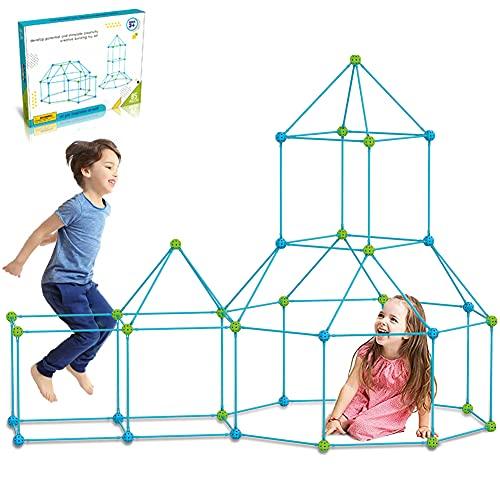 DIY Forts Steckstabbaukasten, Kids Fort Builder,Play Tent, Spielzelt,...
