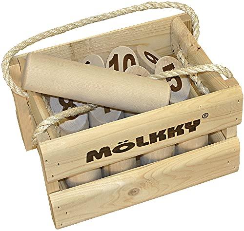 Tactic 40268 Original Mölkky in Holzkiste (Big Size)