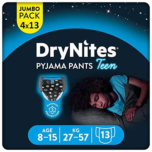 DryNites saugfähige Nachtwindeln Teen bei Bettnässen,...