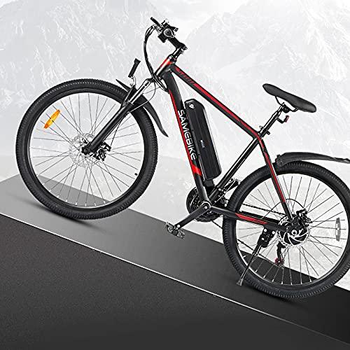 JINGJIN Elektrische Fahrräder für Erwachsene, Magnesium-Legierung...