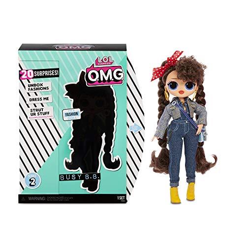 L.O.L. Surprise! 565116E7C O.M.G. Fashion Doll Busy B.B. Series 2,...