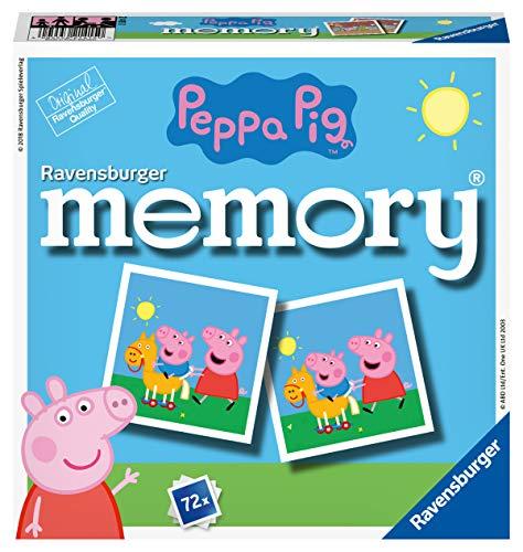 Ravensburger 21415 - Peppa Pig Memory, der Spieleklassiker für alle...