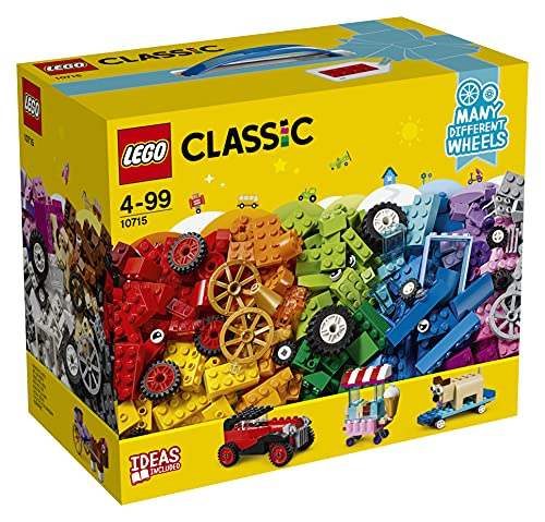 LEGO 10715 Classic Kreativ-Bauset Fahrzeuge, bunte Bausteine, Bauset...