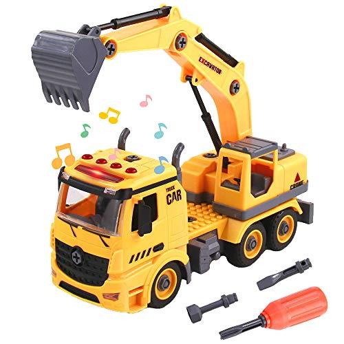 BeebeeRun Montage Spielzeug Auto LKW,Kinder Spielzeug ab 3