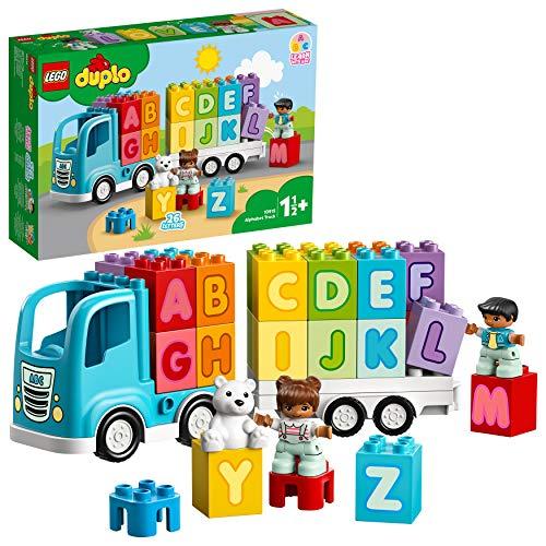 LEGO 10915 DUPLO Mein erster ABC-Lastwagen Set, für Kleinkinder im Alter von 1, 5 Jahren, Buchstaben-Steine...