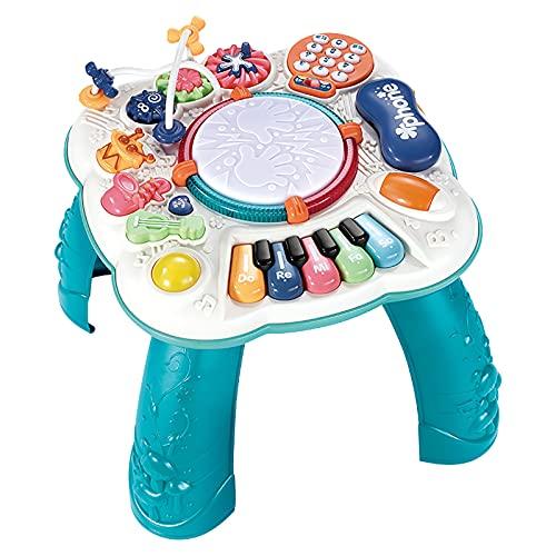 ZXVC Musikalischer Lerntisch Baby Toy-Play & Learn...
