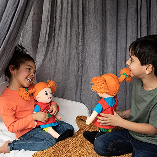 Micki & Friends 44380200 - sprechende Pippi Langstrumpf Puppe 40 cm -...