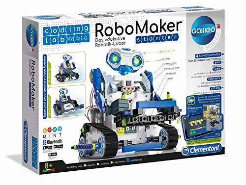 Clementoni 52397 59122 Galileo Science – Coding Lab RoboMaker...