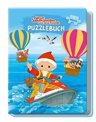 Trötsch Unser Sandmännchen und seine Freunde Puzzlebuch:...