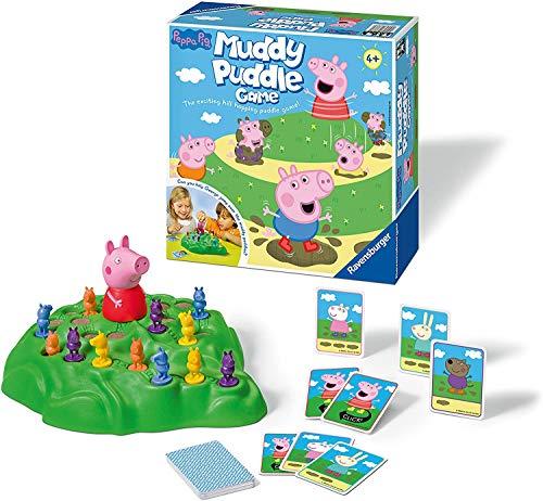Ravensburger Peppa Pig Muddy Pfützen Spiel für Kinder ab 4 Jahren...