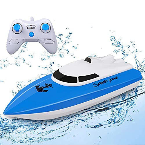 STOTOY Ferngesteuerte Boote ,RC Boot für Pools und Seen, elektrisches...