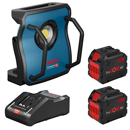 Bosch Akku-Lampe GLI 18V-10000 C 2x ProCORE 18V 12.0 Ah + Lader GAL...