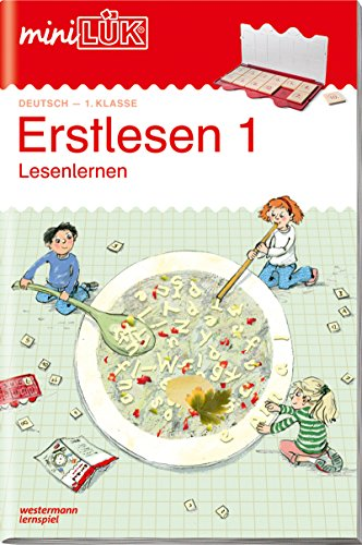 miniLÜK-Übungshefte: miniLÜK: 1. Klasse - Deutsch: Erstlesen 1:...