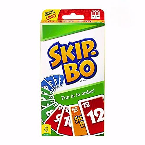 Rpporm UNO:SKIP BO Games Kartenspiel Unwiderstehliche Familie Lustiges...
