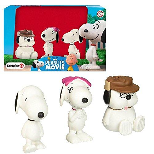 Peanuts Figuren Set Snoopy | Belle und Bruder Olaf Schleich 22049