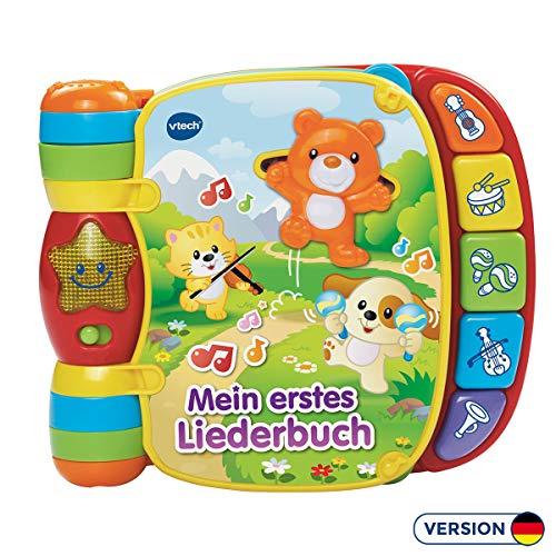 VTech Baby 80-166704 Babyspielzeug - Mein erstes Liederbuch,voilet