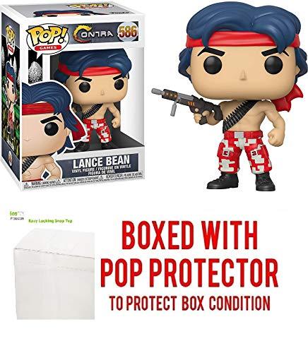 Lance Bean #586 Pop Games: Contra Vinyl-Figur (mit EcoTek Schutzfolie...