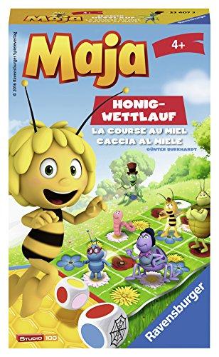 Ravensburger Spiele 23407 - Biene Maja Honig Wettlauf Mitbringspiele