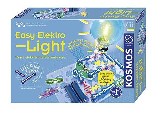 KOSMOS 620530 Easy Elektro - Light. Erste elektrische Stromkreise. Spielerisch die Elektrizität entdecken....