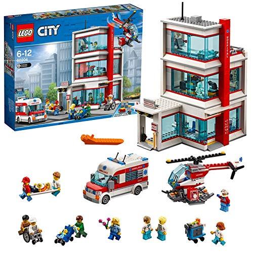 LEGO 60204 City Town LEGO® City Krankenhaus (Vom Hersteller nicht...